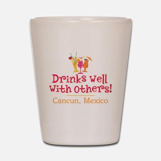 Drinks Well_Cancun - Shot Glass