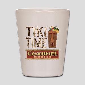 Cozumel Tiki Time - Shot Glass