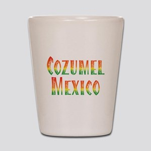 Cozumel Mexico - Shot Glass