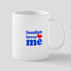 london loves me (blue/red) Mug