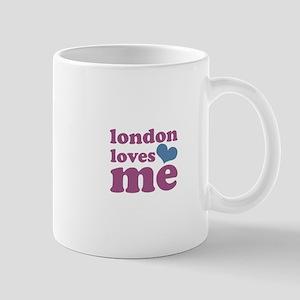 london loves me (purple/blue) Mug