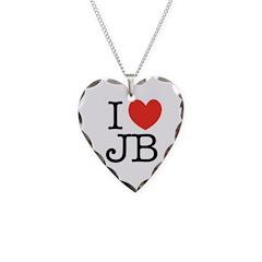 """""""I (heart) JB"""" Necklace"""