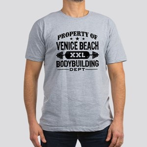 Property Of Venice Beach Bodybuilding Men's Fitted