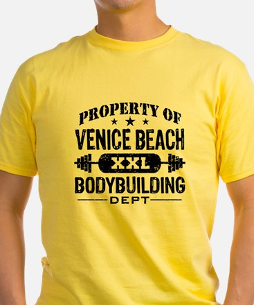 Property Of Venice Beach Bodybuilding T