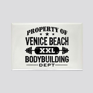 Property Of Venice Beach Bodybuilding Rectangle Ma
