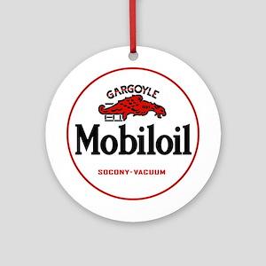 MobilOil Gargoyle Ornament (Round)