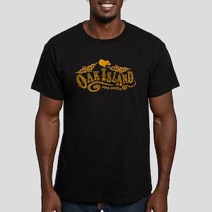 Oak Island Saloon Men's Fitted T-Shirt (dark)