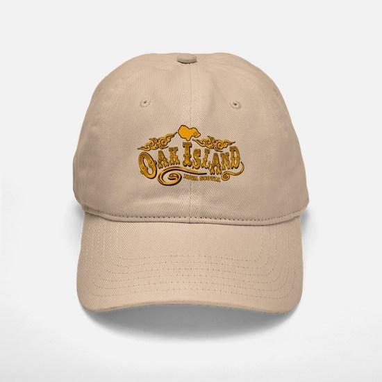 Oak Island Saloon Baseball Baseball Cap