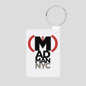 (M)ad Man/New York City Aluminum Photo Keychain