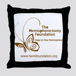 Hemi Foundation Throw Pillow