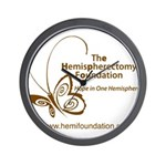Hemi Foundation Wall Clock