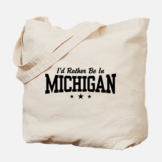 Michigan Tote Bag