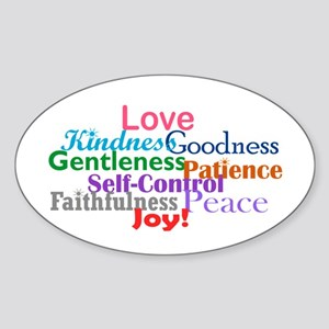 Fruit of the Spirit Sticker (Oval)