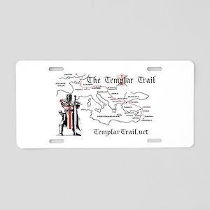 TempleTrail.net Aluminum License Plate