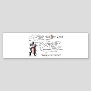 TempleTrail.net Sticker (Bumper)