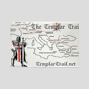 TempleTrail.net Rectangle Magnet