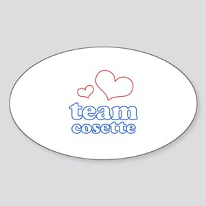 Team Cosette Sticker (Oval)