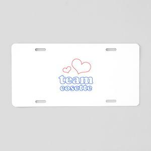 Team Cosette Aluminum License Plate