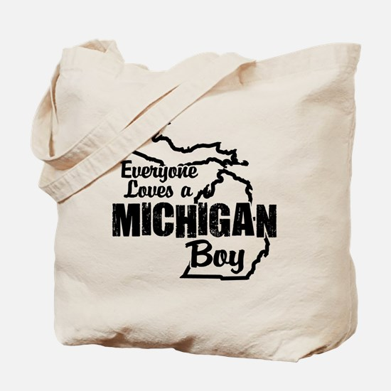 Michigan Boy Tote Bag
