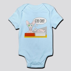 Uh Oh Infant Bodysuit