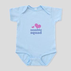 zombie squad (pink/blue) Infant Bodysuit