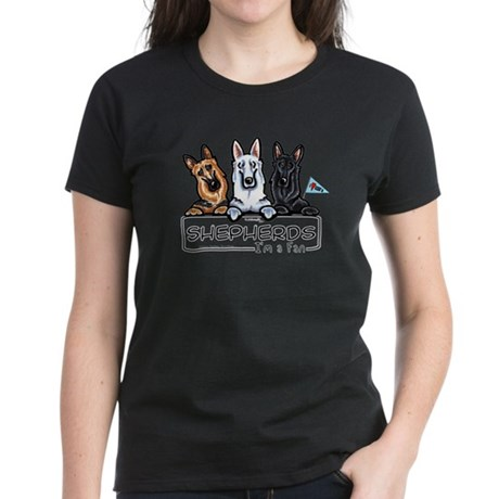 German Shepherd Fan Women's Dark T-Shirt