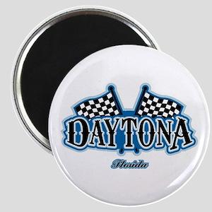 Daytona Flagged Magnet