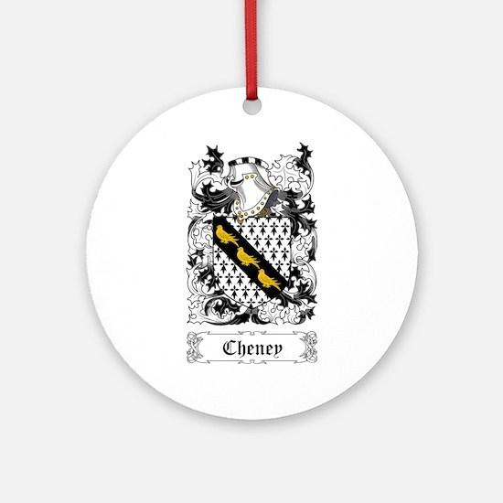 Cheney Ornament (Round)