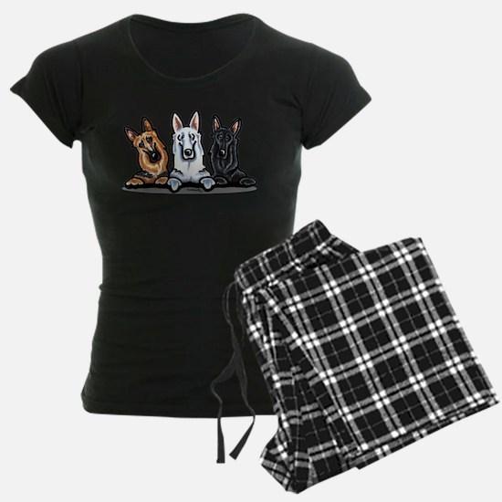 German Shepherd Trio Pajamas