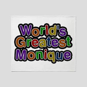 World's Greatest Monique Throw Blanket