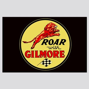 Roar with Gilmore Large Poster