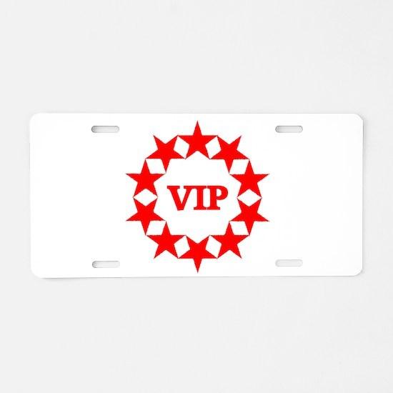 VIP Aluminum License Plate