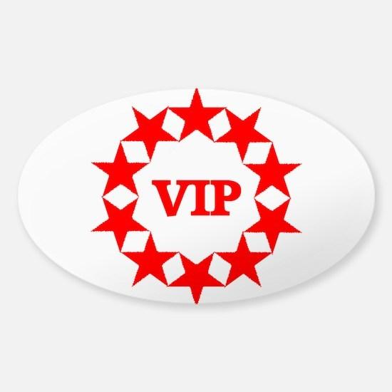 VIP Sticker (Oval)