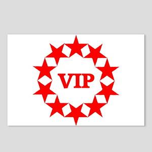 VIP Postcards (Package of 8)