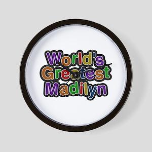 World's Greatest Madilyn Wall Clock