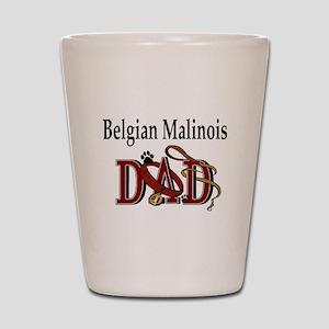 Belgian Malinois Dad Shot Glass