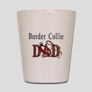 Border Collie Dad Shot Glass