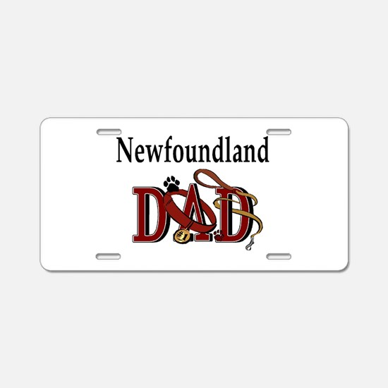 Newfoundland Dad Aluminum License Plate