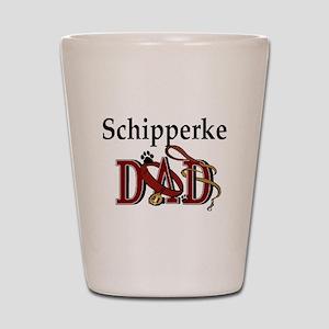 Schipperke Dad Shot Glass
