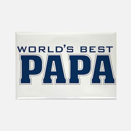 Cute Papa Rectangle Magnet