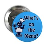 "What's on the Menu? 2.25"" Button (10 pack)"