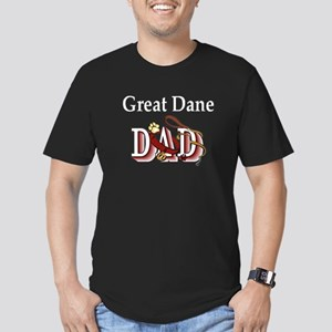 Great Dane Dad Men's Fitted T-Shirt (dark)