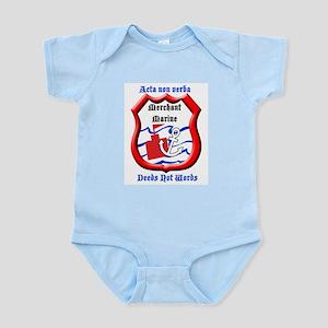 Merchant Marine Logo Infant Bodysuit