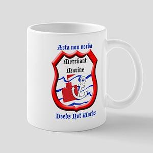 Merchant Marine Logo Mug