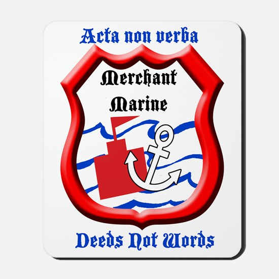 Merchant Marine Logo Mousepad