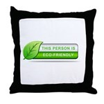 Eco Friendly Throw Pillow