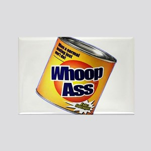 Funny Can Of Whoop Ass Rectangle Magnet