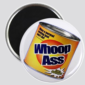 Funny Can Of Whoop Ass Magnet