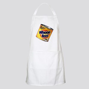Funny Can Of Whoop Ass Apron