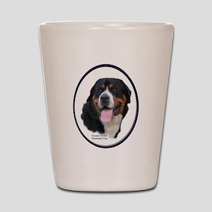 Greater Swiss Mtn Dog Shot Glass